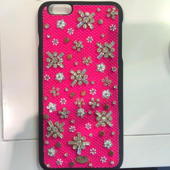 online store c24e4 187ea DIOR iPhone 7 PLUS case